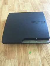 Sony PlayStation 3 Slim CECH-2001B Console Only For Parts Or Repair Does Not Wrk