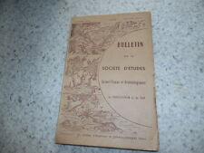 1956.Bulletin société d'études Draguignan.Var..