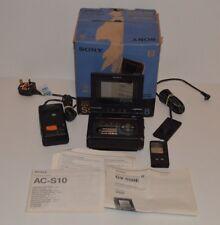 Sony Video Walkman Enregistreur/Moniteur GV-S50E PAL Vidéo 8 Hi-8 très bon Cond