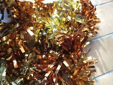guirlande bicolore or et cuivre Noël neuve