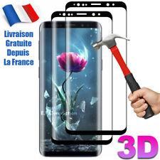 Vitre verre trempé film protection Pour Samsung S9 S8 S10 S20 7 Note 8 9 10 20