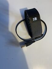 Fitbit Charge 1 Wristband Fitness Activity Tracker Black Size Small #58