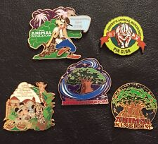 Lot Set of 5 Authentic Disney Pins~WDW~Animal Kingdom ~ Private Collection