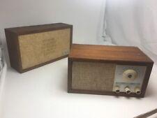 New listing Vintage Klh Model Twenty One 21 Fm Radio W/Extension Speaker - Henry Kloss