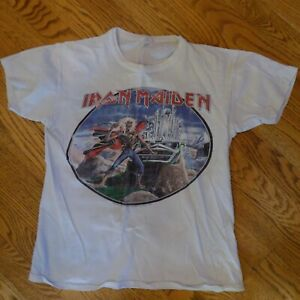 Iron Maiden T-Shirt Phantom of the Opera - Size Large - vintage, rare item, used