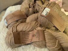 New listing HiKoo Simplinatural Alpaca, Wool, Silk Yarn- 4 Skeins Total