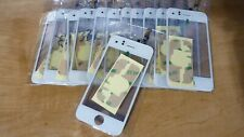 12X White iPhone 3G Digitizer Touch Screen Glass + Glue Pads LOT