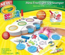 Crayola Stamper Color Wonder Light Up Art Coloring Activity Book Set Children