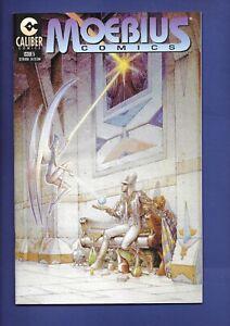 Moebius Comics #5 Caliber Comics 1996 HTF RARE SCARE