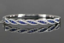 Bracciali di lusso blu naturale tondi