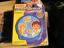 Fisher Price Digital Studios lot of 3 Dora Diego Dinosaurs in sealed package