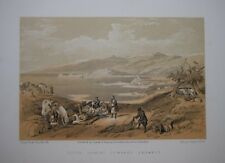 ISRAEL / LEBANON - SIDON LOOKING TOWARDS LEBANON BY DAVID ROBERTS, C.1880.