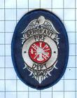 Fire Patch -Sergeant Fire Dept. GA