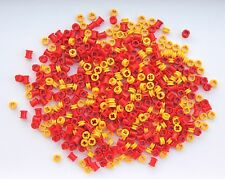 LEGO Technic NEW 500 pcs RED YELLOW BUSH Bushing 1/2 Mindstorms robot Piece Part