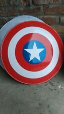 Captain America Superhero shield 24 inch approx with leather grip