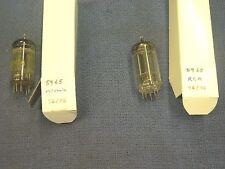 Tube, 5965, RCA, 5965, Sylvania, 76/76 & 72/76, (lot of 2)