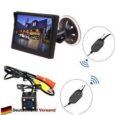"Auto Funk Einparkhilfe 5"" Windschutzscheibe Saugnapf Monitor LCD Rückfahrkamera"
