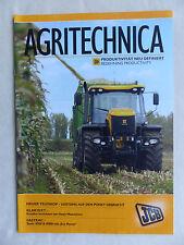 JCB Agritechnica 2011 Neuheiten - Fastrac 8000 - Prospekt Brochure 2009 (0864