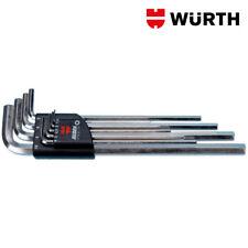 Chiavi esagonali lunghe brugole Kit 9pz - Würth