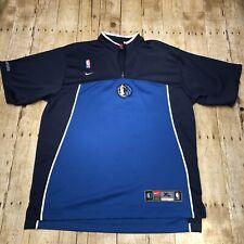 Nike Nba Dallas Mavericks Basketball Jersey Style Warm Up Shirt Adult Size Xl
