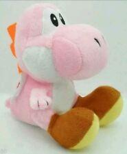 SUPER MARIO BROS. YOSHI ROSA PELUCHE - 19Cm. - Plush Pink Waluigi Boo Wario Toad