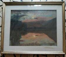 Olio su tela  firmato T. Ranieri (pittore bresciano) cm 50x40 del 1971