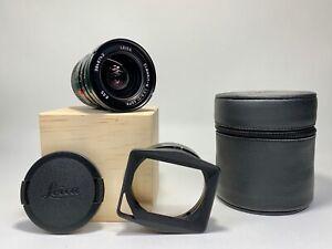 Leica ELMARIT-M 21mm ASPH f/2.8 11135MF Aspherical Lens with Shade and Original