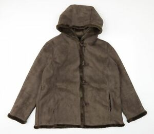 DEBINHAMS Womens Brown   Rain Coat  Size 20