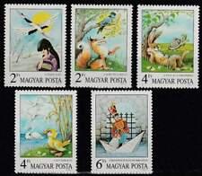 Hongarije postfris 1987 MNH 3937-3941 - Sprookjes en Fabels