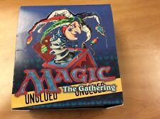 MTG Magic Unglued booster box EMPTY