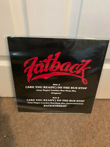 """The Fatback Band -  (Are You Ready) Do The Bus Stop  12"""" Joey Negro Remix"""