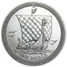 Random Year - Isle of Man 1 oz Platinum Noble BU/Proof