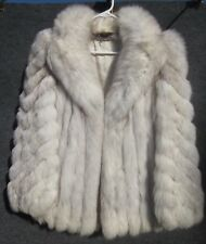 FOX FUR JACKET COAT MADE IN THE U.S.A. VINTAGE LARGE CLASSIC BEAUTY