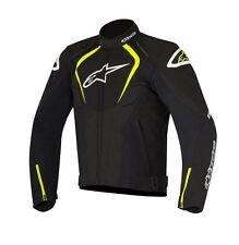 New Alpinestars T- Jaws WP Black/Fluo Drystar Waterproof Textile Jacket