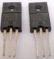 2SC4418  Sanken Silicon NPN Transistor C4418  X 2 pieces