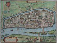 Bremen - Brema - Braun und Hogenberg - Original um 1580 - Seltenes Blatt