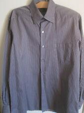 Ermenegildo Zegna Shirt Size Large Purple Button Down *Buttons Missing*