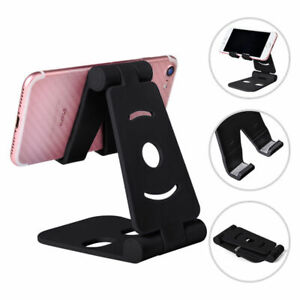 Universal Adjustable Mobile Phone Holder Plastic Stand Tablet Folding Stand Desk