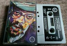 LINTON KWESI JOHNSON~REGGAE GREATS~RARE CASSETTE TAPE ALBUM~FAST POST~1985~DUB