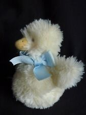"""Bunnies by the Bay plush yellow chick duck rattle 6"""""""