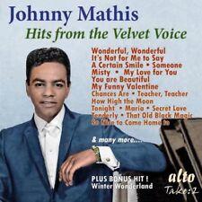 [BRAND NEW] CD: JOHNNY MATHIS: HITS FROM THE VELVET VOICE