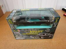 1:25 1968 Dodge Charger Bullitt Steve McQueen Revell Metal Model Car Kit