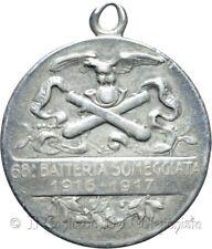 1917 RARA medaglia 68 BATTERIA SOMEGGIATA ALPINI Artiglieria Fronte WW1