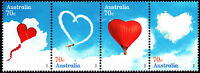 Australia 2015 Love is in the air - strip of 4 stamps Gummed, MNH