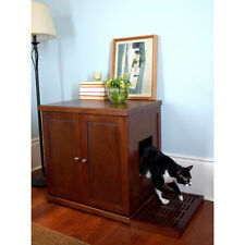 Wooden Furniture Discreet Litter Box,Drawer Storage, Includes Litter Catch! NEW