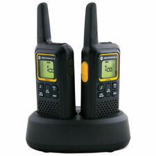 Motorola XAP0085BDGAA  XT180 2 Way Walkie Talkie Radio - 2 Pieces - Black/Yellow