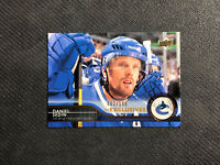 2014-15 UPPER DECK SERIES ONE DANIEL SEDIN UD EXCLUSIVES GOLD #ed 62/100