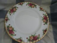 7 Royal Albert Old Country Roses 10 3/8 Inches Fluted Dinner Plates NEW