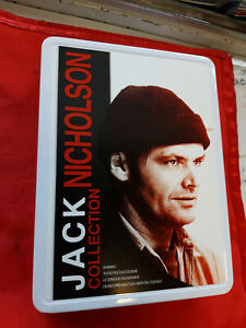 DVD - JACK NICHOLSON  Collection (5 dvd ) METAL BOX  ed limitata ..............