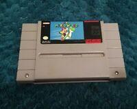 Super Nintendo SNES Super Mario World Video Game